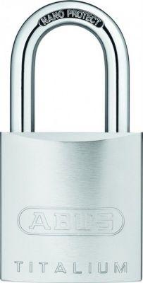 Cadenas à clés aluminium massif - 86TI/55