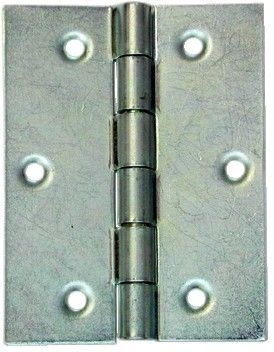 Charnière `Havraise` double feuille - axe inox