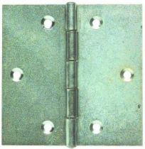 Charnière carré à noeud roulé - axe inox