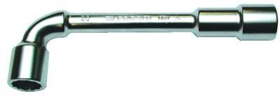 Clé à pipe débouchée Facom série 76 - 12 x 6 pans