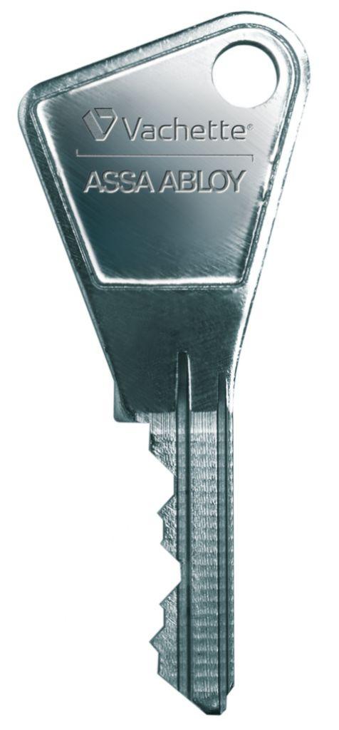 Clé supplémentaire pour cylindre séries 7100 - 5100 - 3110 - V136