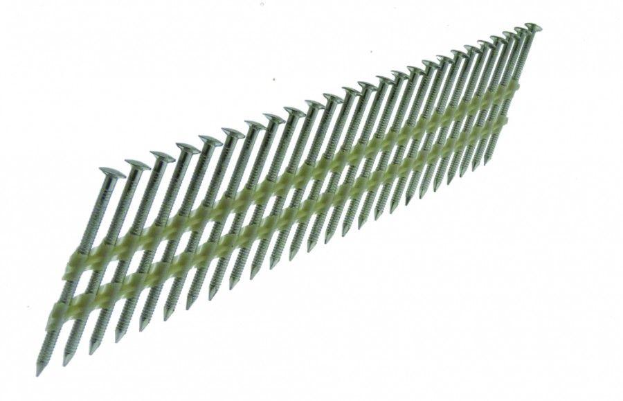 Cloueur à bandes pointes D - tête bombées annelées - pour Framepro 651