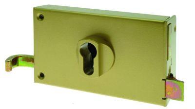 Coffre pour cylindre profil européen Devismes horizontale à tirage