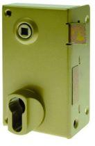 Coffre pour cylindre profil européen Devismes verticale à fouillot - Carré de 7 mm