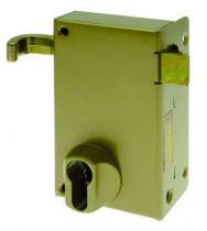Coffre pour cylindre profil européen Devismes verticale à tirage