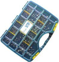Coffret 170 vis métaux tête héxagonale inox A2 - DIN 933