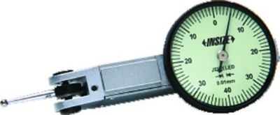 Comparateur à levier - lecture 0,01 mm - monté sur rubis