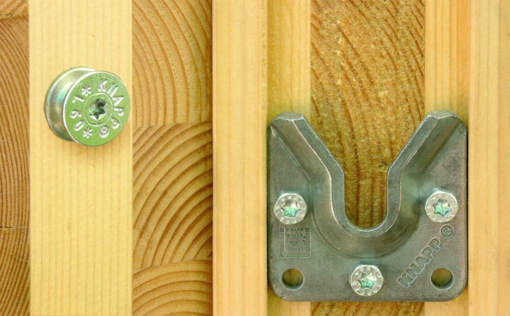 Connecteur métallique assemblage bois Walco V60 et V80