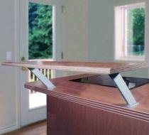 Console de bar plate - pour tablette bois