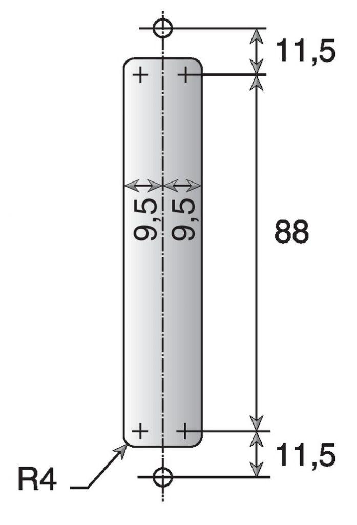 Coquille sans mécanisme - réf 6749