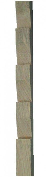 Crémaillère applique - hêtre
