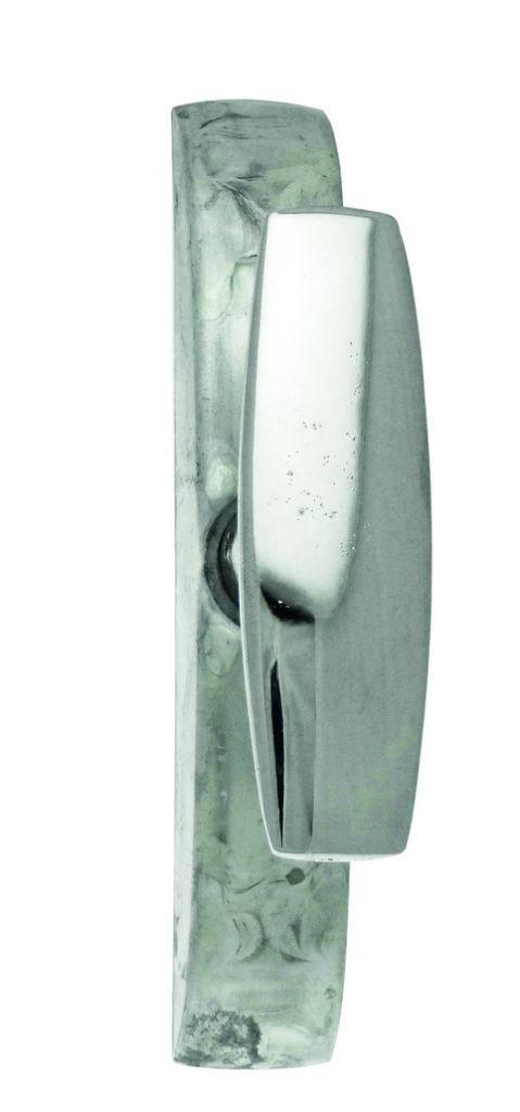 Crémone pour menuiserie métallique a tringle en feuillure