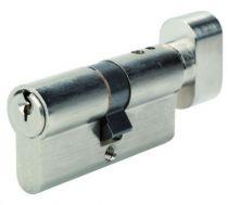 Cylindre à bouton Bricard Alpha pour portes coupe - feu