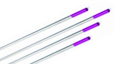 Electrode acier/inox - tungstène E3 (bout lilas)