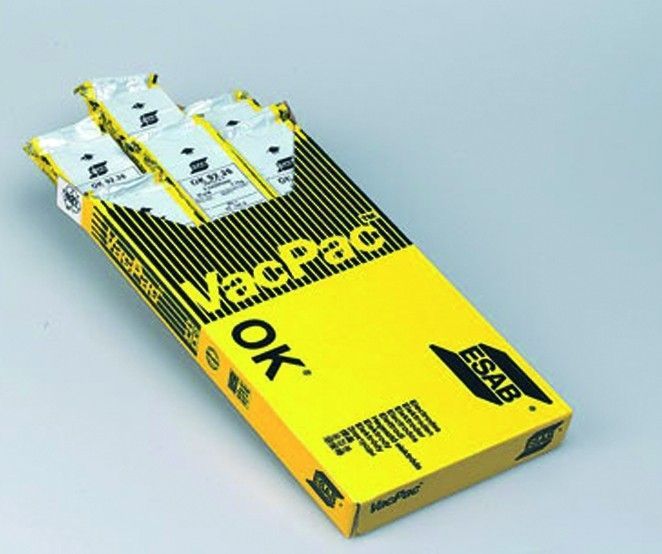 Electrodes Ok 63.30 - inox 316 L