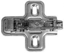 Embase pour charnière montage par clipsage - Salice
