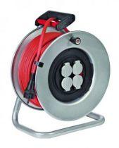 Enrouleur silver xl 40 m H07RNF avec détecteur de fumée