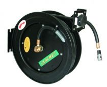 Enrouleur tuyau d\'air comprimé automatique et accessoires