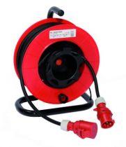 Enrouleurs prolongateurs utilisation en extérieur série TB inversé - câble H07 RN-F - prises P17 ou 200 Hz