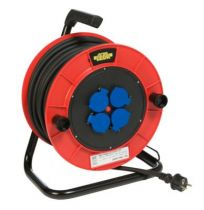 Enrouleurs prolongateurs utilisation en extérieur série TRB4 - câble HO7 RN-F avec disjoncteur thermique