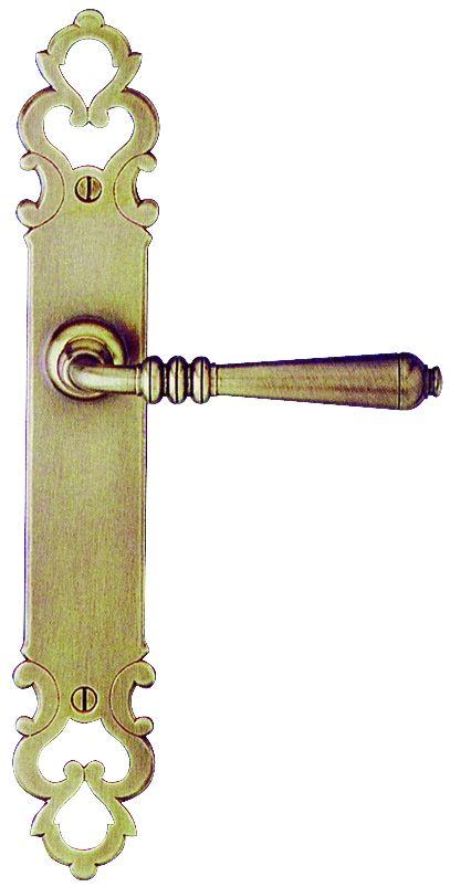 Ensemble Comté plaque 280 x 45 mm - entraxe de fixation 195 mm