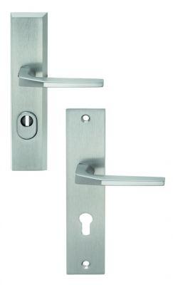 Ensemble de sécurité Alpha plaque 240 x 52 mm - entraxe de fixation 211 mm