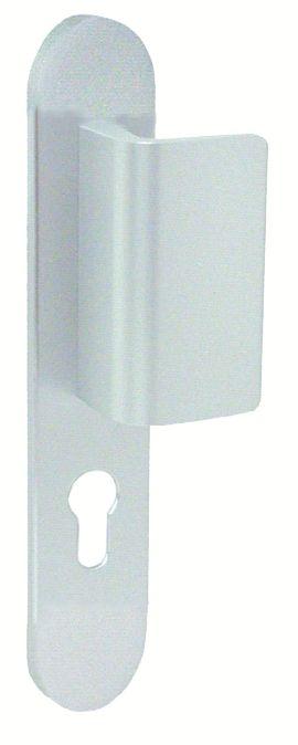 Ensemble Golf 2 - Plaque 220 x 42 mm - entraxe de fixation 195 mm - Argent