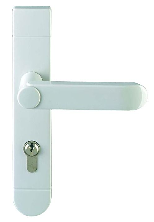 Ensemble Inpro plaque 220 x 40 mm - entraxe de fixation 195 mm - Blanc 19