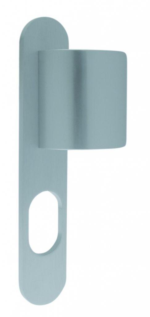 Ensemble Logio - Plaque 229 x 42 mm - entraxe de fixation 195 mm - Argent