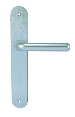 Ensemble Québec design - Plaque 228 x 42 mm - entraxe de fixation 195 mm - Argent