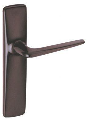 Ensemble rivyl plaque 184 x 40 mm - entraxe de fixation 165 mm