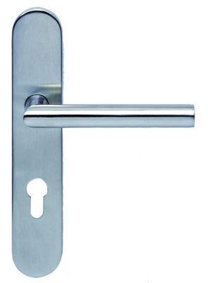 Ensemble sur plaques série EST 21 plaque 228 x 43 mm - épaisseur 10 mm qualité 1 4301 (A2 - AISI 304)
