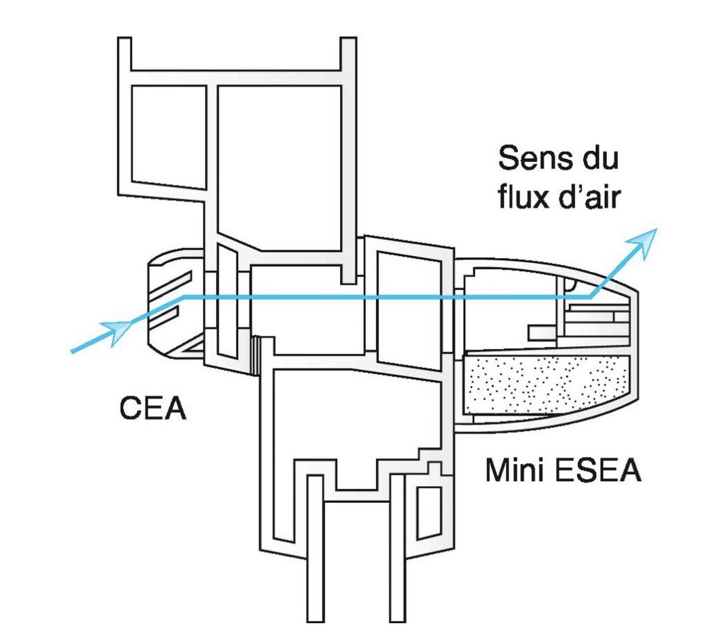 entr e d 39 air auto r glable acoustique type mini esea. Black Bedroom Furniture Sets. Home Design Ideas
