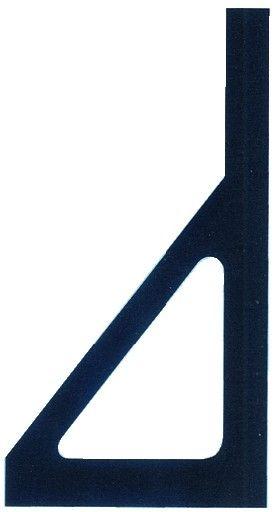Equerre de vitrier avec écharpe