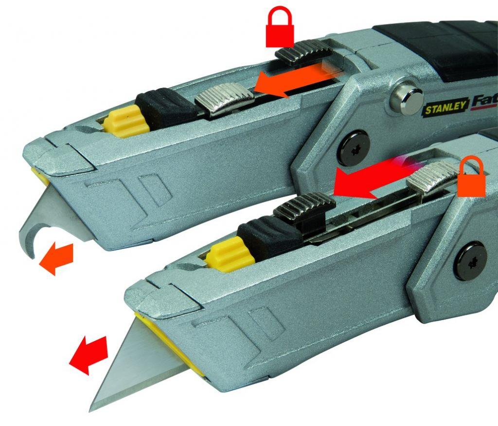 FatMax Pro couteau rétractable pliable double