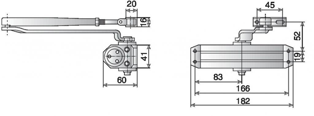 Ferme-porte DC 110