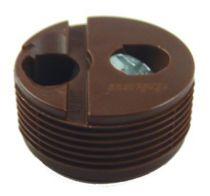 Ferrure d\'assemblage à excentrique diamètre 25 mm