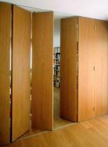 Ferrure de portes coulissantes / pliantes bois varifold 80/H