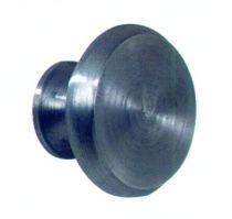 Finition fer brut acier - bouton provençal
