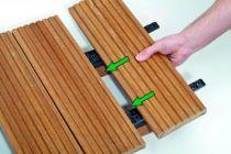 Fixation invisible pour terrasse bois spax Stick