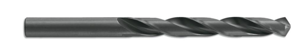 Foret HSS bleu noir taillé meulé - queue cylindrique court