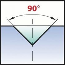 Forets à pointer angle 90° - acier HSSE