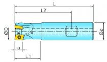 Fraises à surfacer et à dresser queue cylindrique pour BOMT 09