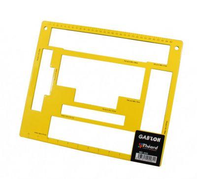 Gab lok rectangle