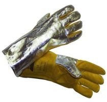 Gants anti-chaleur mig aluminium