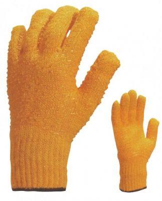 Gants tricotés 65% polyester - 35% coton