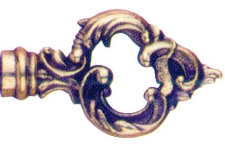 DUBOIS Cl/é louis xv bronze