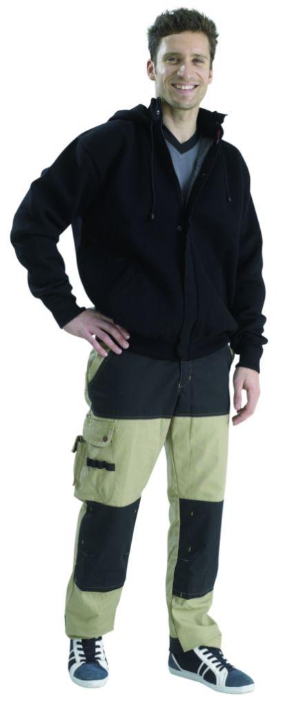 Gilet à capuche Alaska - noir