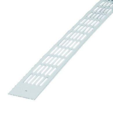 Grille applique à visser intérieure plate double - type 488