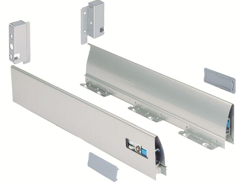 Kit c t s double paroi syst me innotech hauteur 86 mm - Coulisse de tiroir grande longueur ...